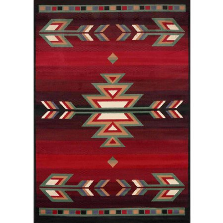 Home Dynamix Premium Collection Scatter Area Rug, Black, 21