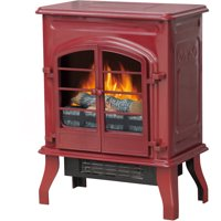 Deals on Decor-Flame Electric Stove Heater, QC115-GRD