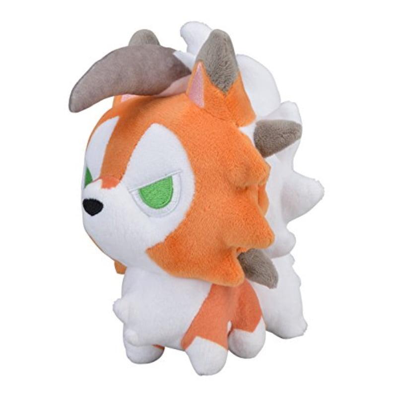 Pokemon Center Original Sun//Moon 6.5-Inch Poke Plush Lycanroc Doll Dusk Form