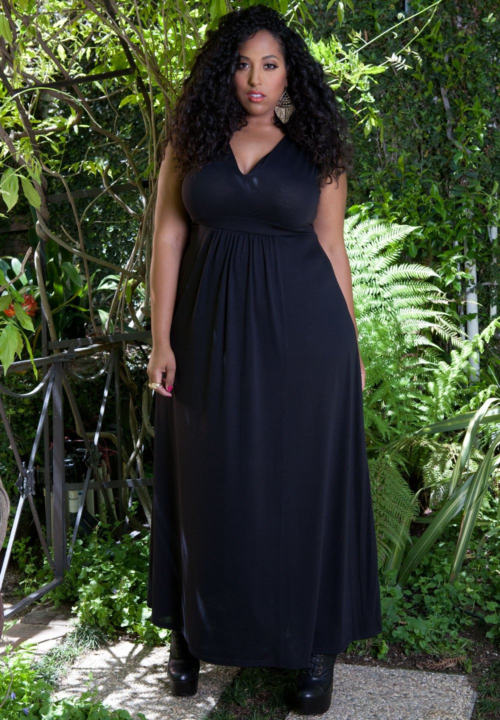 85bc701e45a Sealed with a Kiss Designs Plus Size - SWAK Designs Women s Plus Size  Bonnie Maxi Dress - Walmart.com