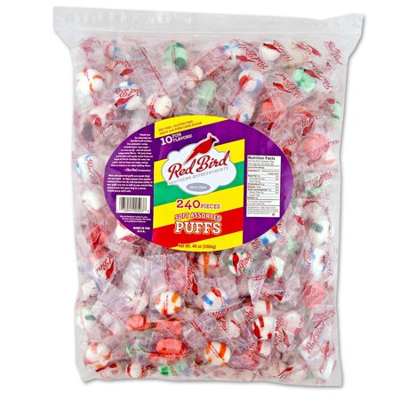 Red Bird Soft Assorted Mint Puffs, 46 oz - Soft Mints