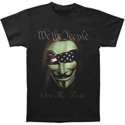 Erazorbits WE THE PEOPLE SEE THE TRUTH Black Adult Unisex T-Shirt