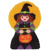 Craftways Little Witch Latch Hook Kit