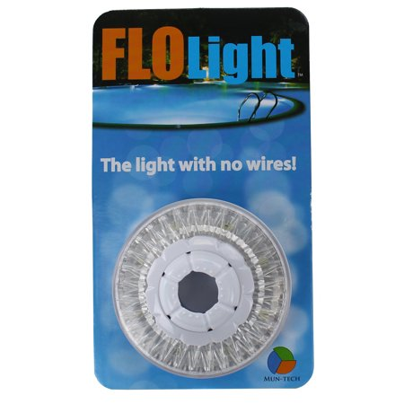 Led above inground swimming pool flo light wireless for Pool light show walmart