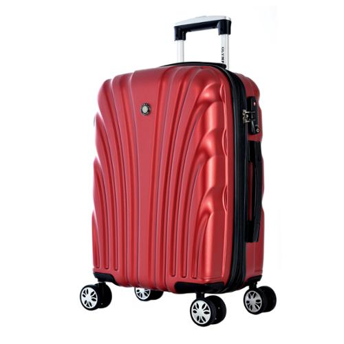 "Olympia ""Vortex"" 21-inch Carry-on Hardside Spinner Upright Suitcase Wine"