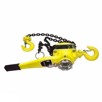 3 Ton Hand Lever Chain Block Hoist Come A Long Ratchet Wi...
