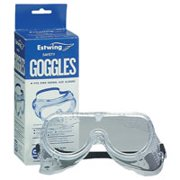 Estwing #6 Ventilated Safety Goggles, Vinyl Frame