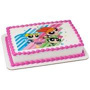 Powerpuff Girls Quarter Sheet Edible Cake Topper (Each)