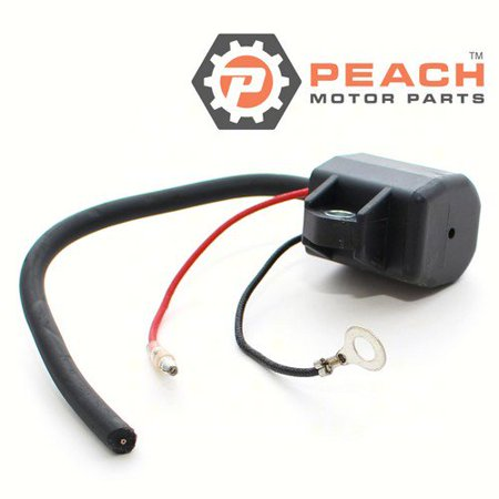 Peach Motor Parts PM-6R3-85570-01-00  PM-6R3-85570-01-00 Ignition Coil; Replaces Yamaha®: 6R3-85570-01-00, 6R3-85570-00-00, 697-85570-00-00, 6H2-85570-00-00, Sierra®: 18-5128, WSM®: 380-5128