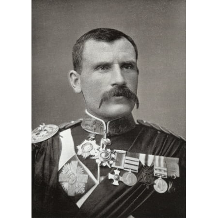 Victorian Soldier (Major-General Sir Hector Archibald Macdonald Aka Fighting Mac1853 To 1903 Distinguished Victorian Soldier From The Book South Africa And The Transvaal War By Louis Creswicke Published 1900 Rolled)