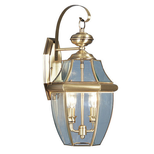 Livex Lighting Monterey 2 Light Wall Lantern