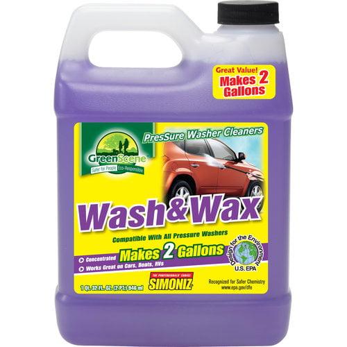 Green Scene Wash and Wax