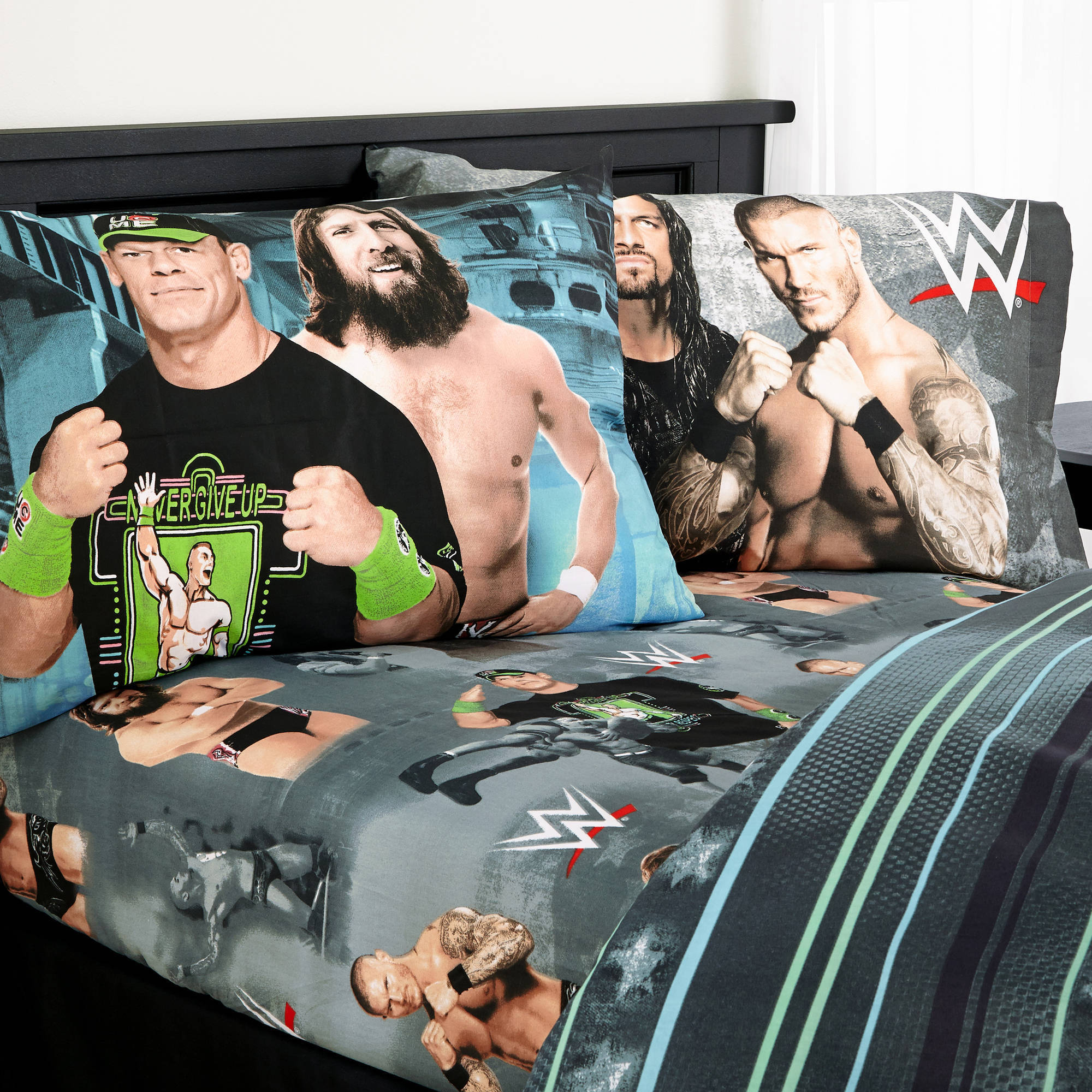 "WWE ""Industrial Strength"" SHeet Set by Franco"