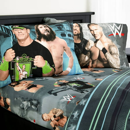 WWE u0022Industrial Strengthu0022 Sheet Set