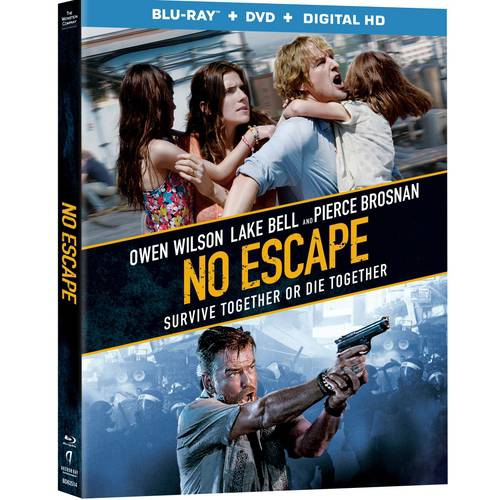 No Escape (Blu-ray   DVD   Digital HD) (With INSTAWATCH)