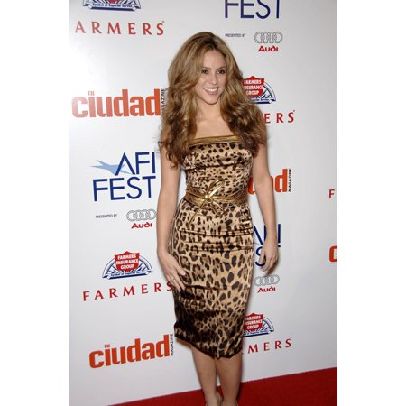 Item # EVC0711NVFGM034 Shakira At Arrivals For Love In The Time Of Cholera Premieres At Closing Night Of Afi Fest 2007 Presented By Audi Arclight Hollywood Cinerama Dome Los Angeles Ca November 11 (200 N Spring St Los Angeles Ca)