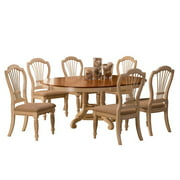 Hillsdale Furniture Wilshire 7-Piece Round Dining Set with Side Chairs, Multiple Colors