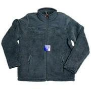 32 Degrees Heat Boy's Sherpa Lined Fleece Full Zip Jacket Galaxy (Blue) (L)