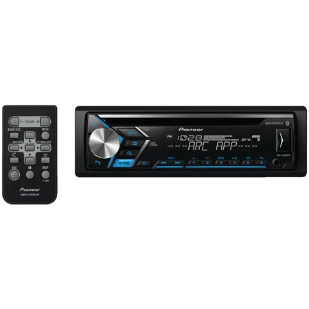 (Pioneer DEH-S4000BT Single-DIN In-Dash CD Receiver With Bluetooth)