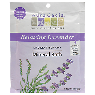 Relaxing Lavender Mineral Bath Packet