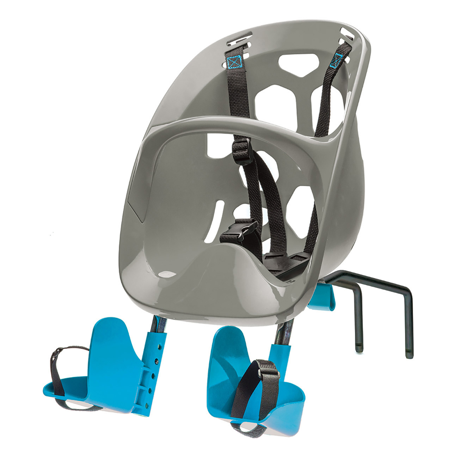 Bell Sports Mini Shell Front Bicycle Child Carrier, Gray