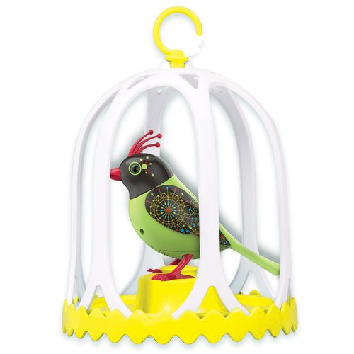 DigiBirds Bird With Bird Cage
