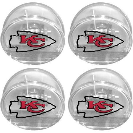 Chip Clip Set - NFL Kansas City Chiefs Magnetic Chip Clip Set, 4pk