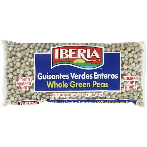 La Cholita Whole Green Peas, 16 oz