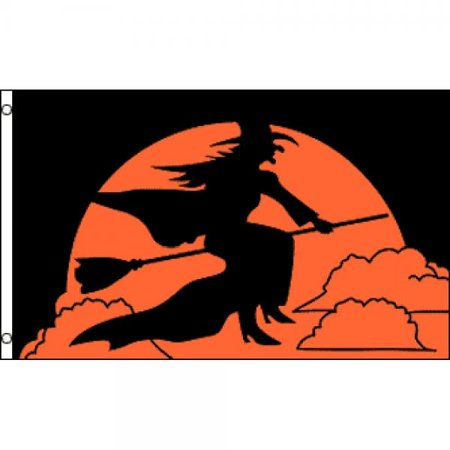 Halloween Six Flags Arlington (Halloween Witch Flag 3x5ft)