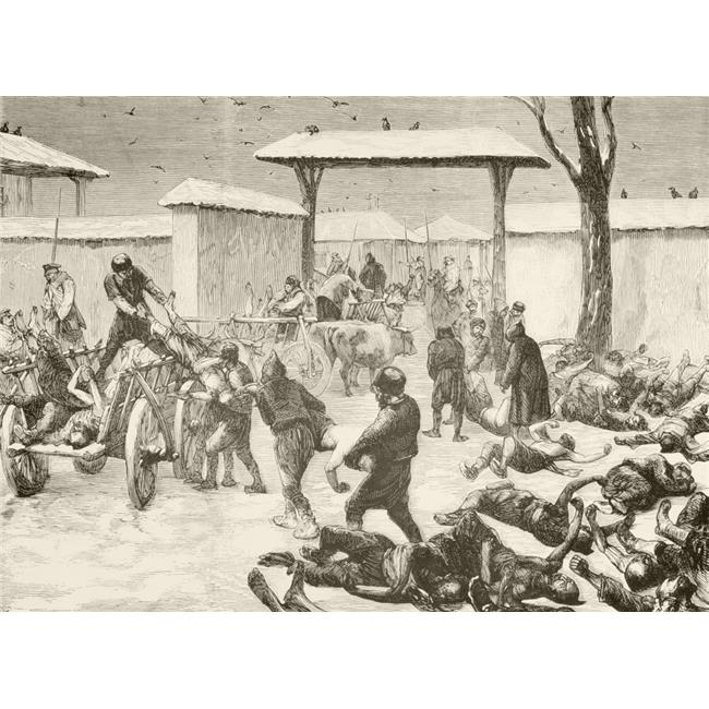 Posterazzi Plevna 44 Now Known As Pleven 44 Bulgaria Recovering The Dead After The Siege Of Plevna 44 1877 44 During The Russo Turkish War 1877 To 1878 From A 19th Century Illustration Walmart Com Walmart Com