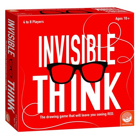 Invisible Think, GAMES THAT TEACH: Invisible Think from MindWare is a hilarious party game that will bring friends and families together to laugh at.., By MindWare (Laughing Games)