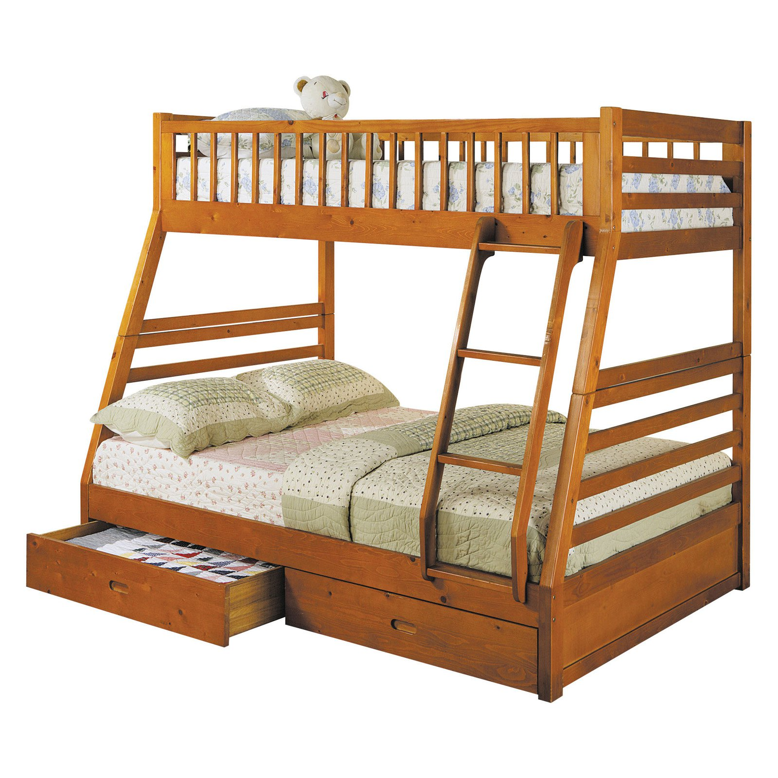 Acme Furniture Jason Twin Over Full Bunk Bed