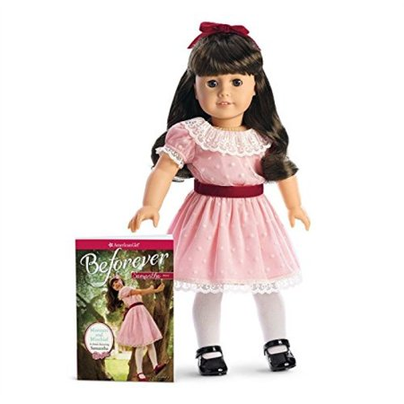 American Girl - Beforever Samantha Doll & Paperback Book (Mckenna American Girl Doll)