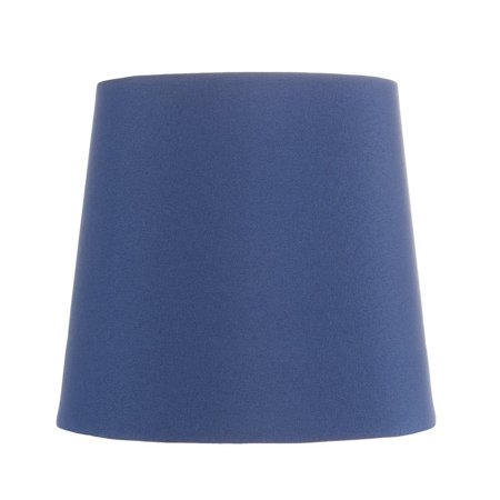 China Blue Five Inch Clip on Chandelier Lampshade with Nickel Bulb Clip