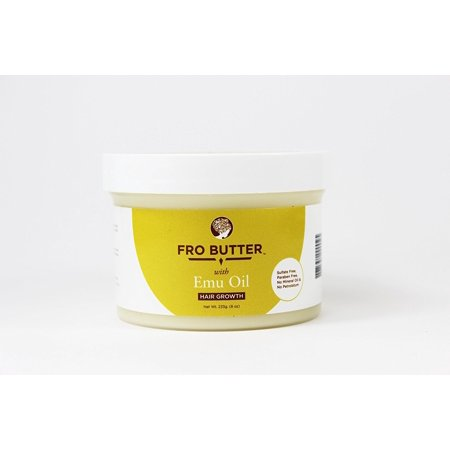 Fro Butter with Emu Oil-All Natural and Organic Hair (Natural Treatment For White Hair At Young Age)