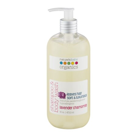 Nature's Baby Organics Shampoo and Body Wash, Lavender