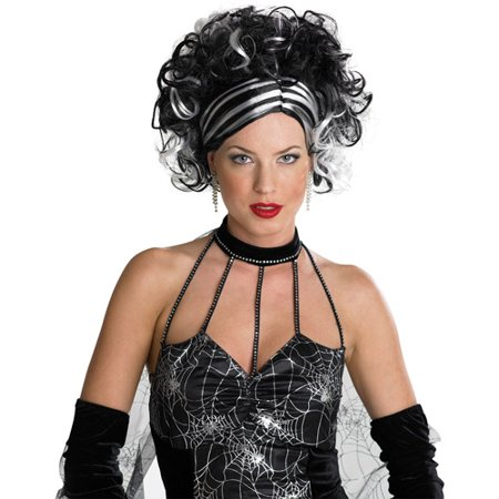 Wicked Widow Adult Halloween Wig](Wicked Witch Wig)