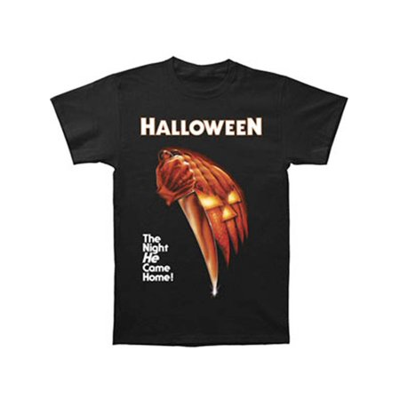 Halloween Men's  Night He Came Home T-shirt Black - Cool Halloween Shirts
