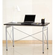 Techni Mobili Stylish Writing Desk, Chocolate or Mahogany