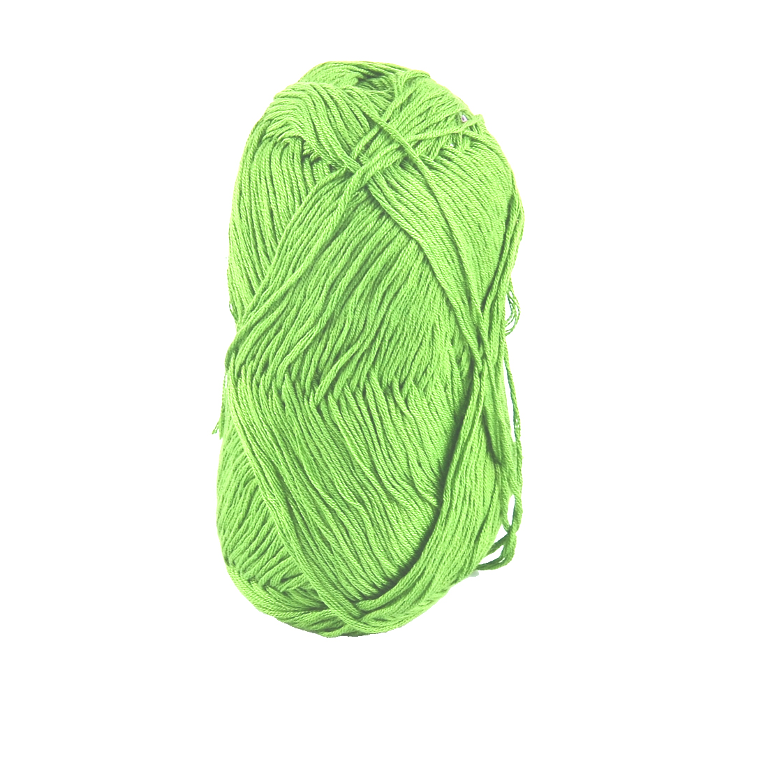 Cotton Hand DIY Knitting Clothes Hat Sweater Crochet Thread 50 Gram Lime Green
