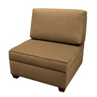 Duobed MFCH30-BS 30 in. Chair Plus 1 BS Storage Ottomans - Mocha