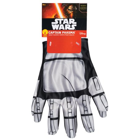 Star Wars: The Force Awakens Captain Phasma Gloves For Adults Halloween Accessory, One Size for $<!---->