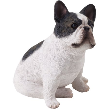 """Sandicast """"Small Size"""" Sitting Brindle French Bulldog Sculpture"""