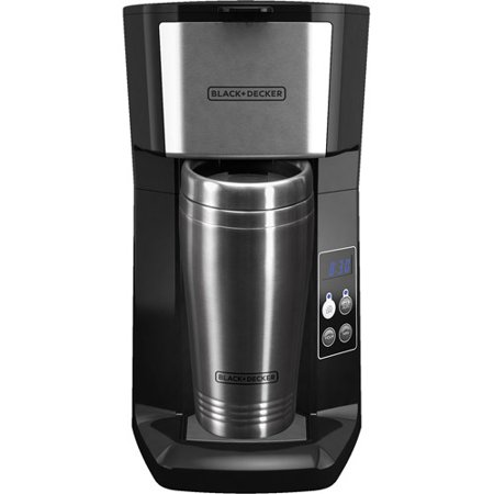 Black & Decker Personal Coffee Maker with Travel Mug - Walmart.com