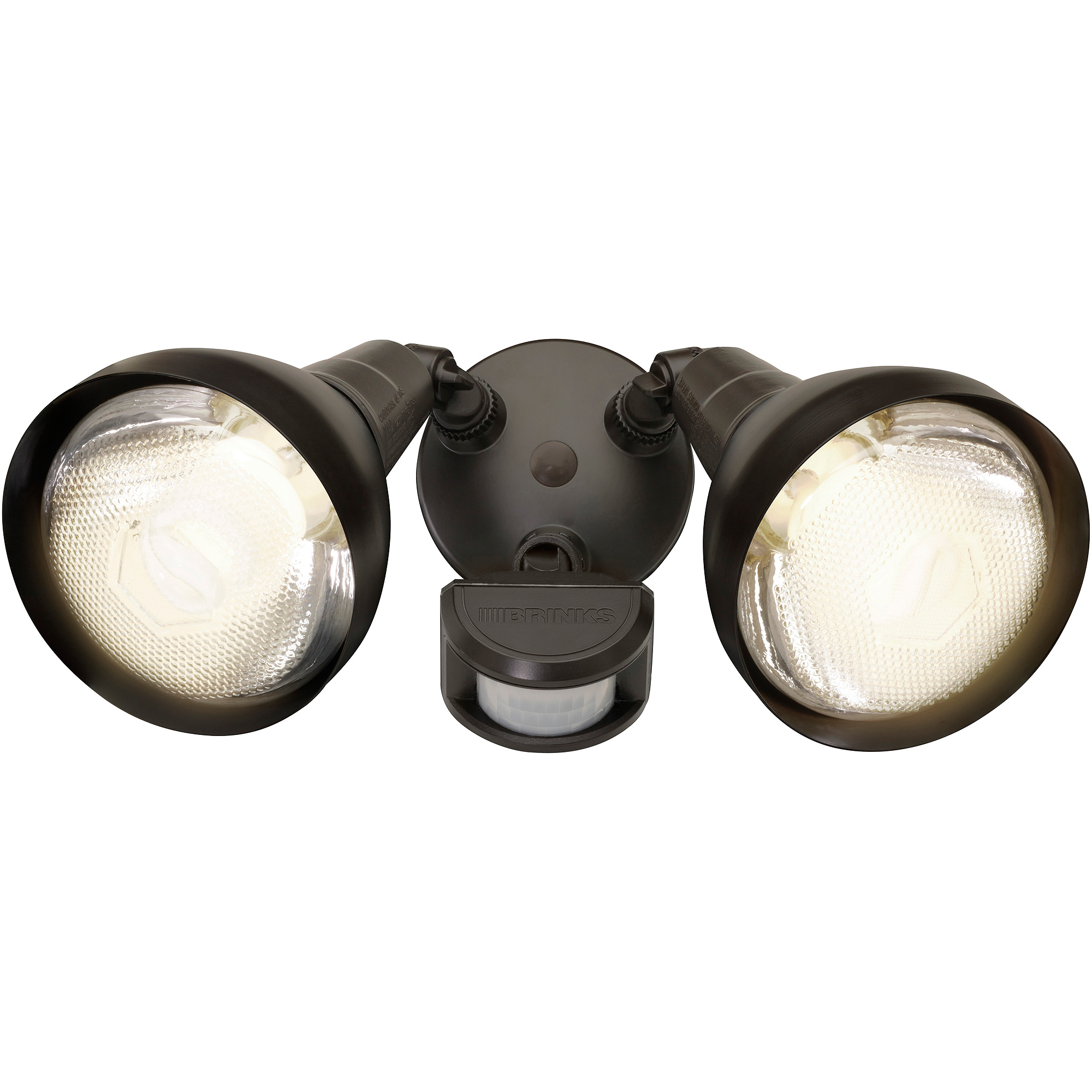 Brink's 180-Degree 2-Head with Head Motion Activated Security Light