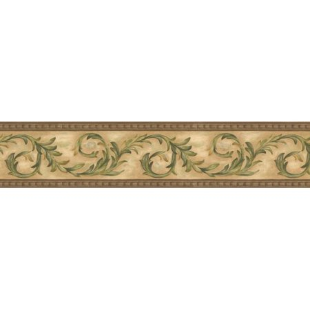Astoria Grand Krieg Vines Retro Design 15 L X 105 W Damask Wallpaper