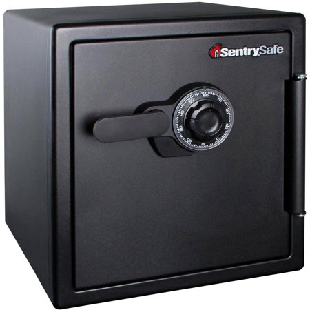 SentrySafe SFW123CS Fireproof Safe and Waterproof Safe with Dial Combination 1.23 cu ft