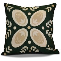 "Simply Daisy 16"" x 16"" Tradition Geometric Print Outdoor Pillow"