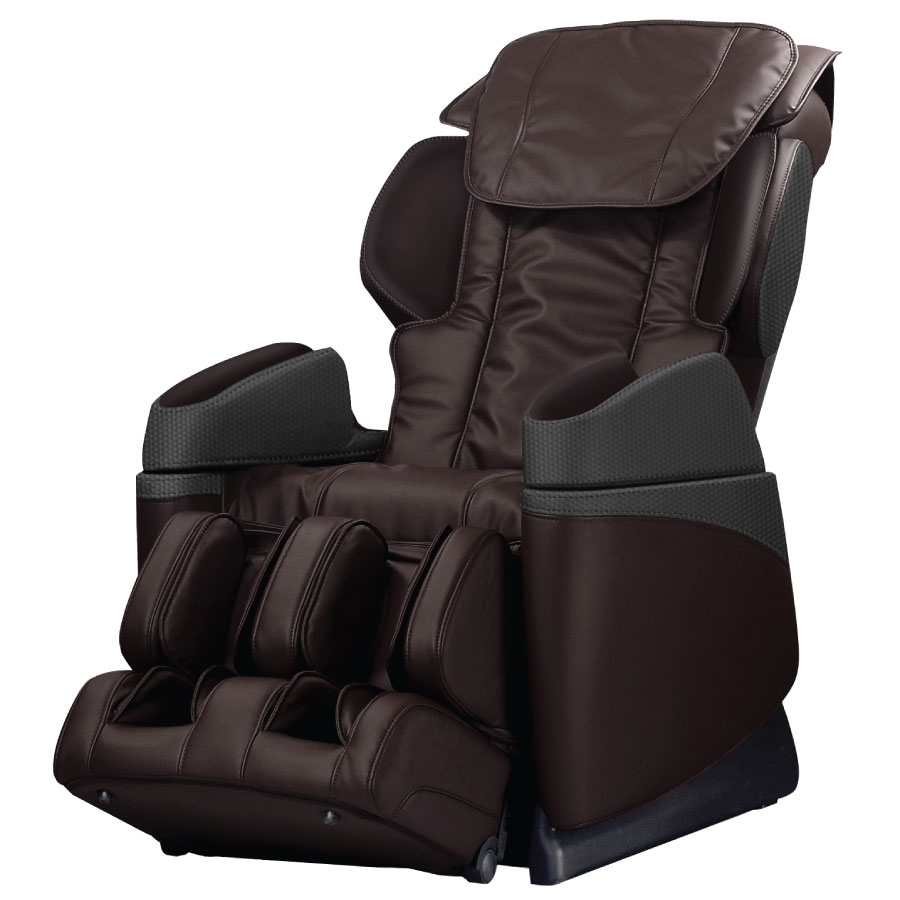 OSAKI OS-3700B Massage Chair with Industrial Design in Brown Color