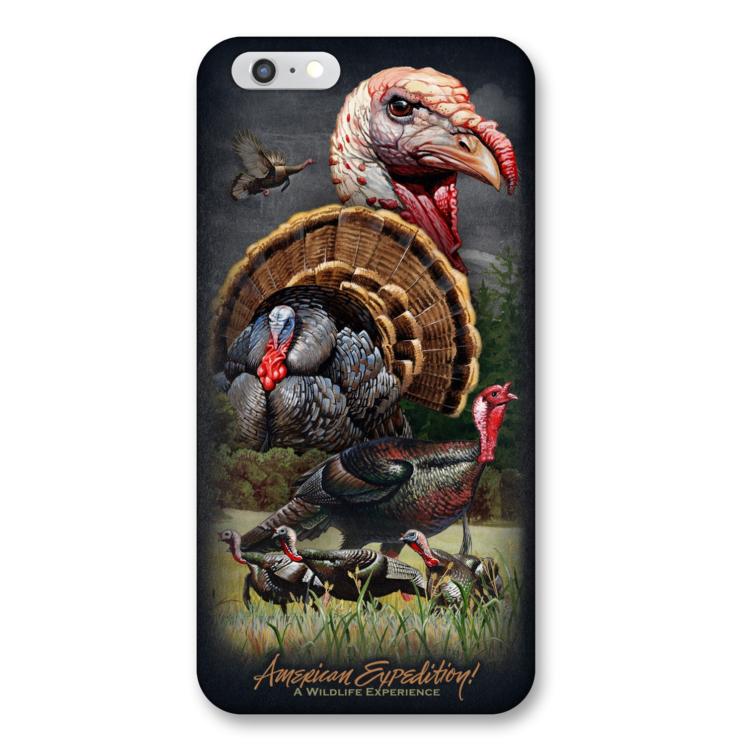 American Expedition iPhone 6 Cover - Wild Turkey Collage